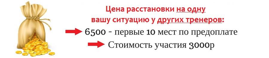 ЦЕНА РАССТАНОКИ 1 СИТУАЦИИ В Г. Магнитогорске